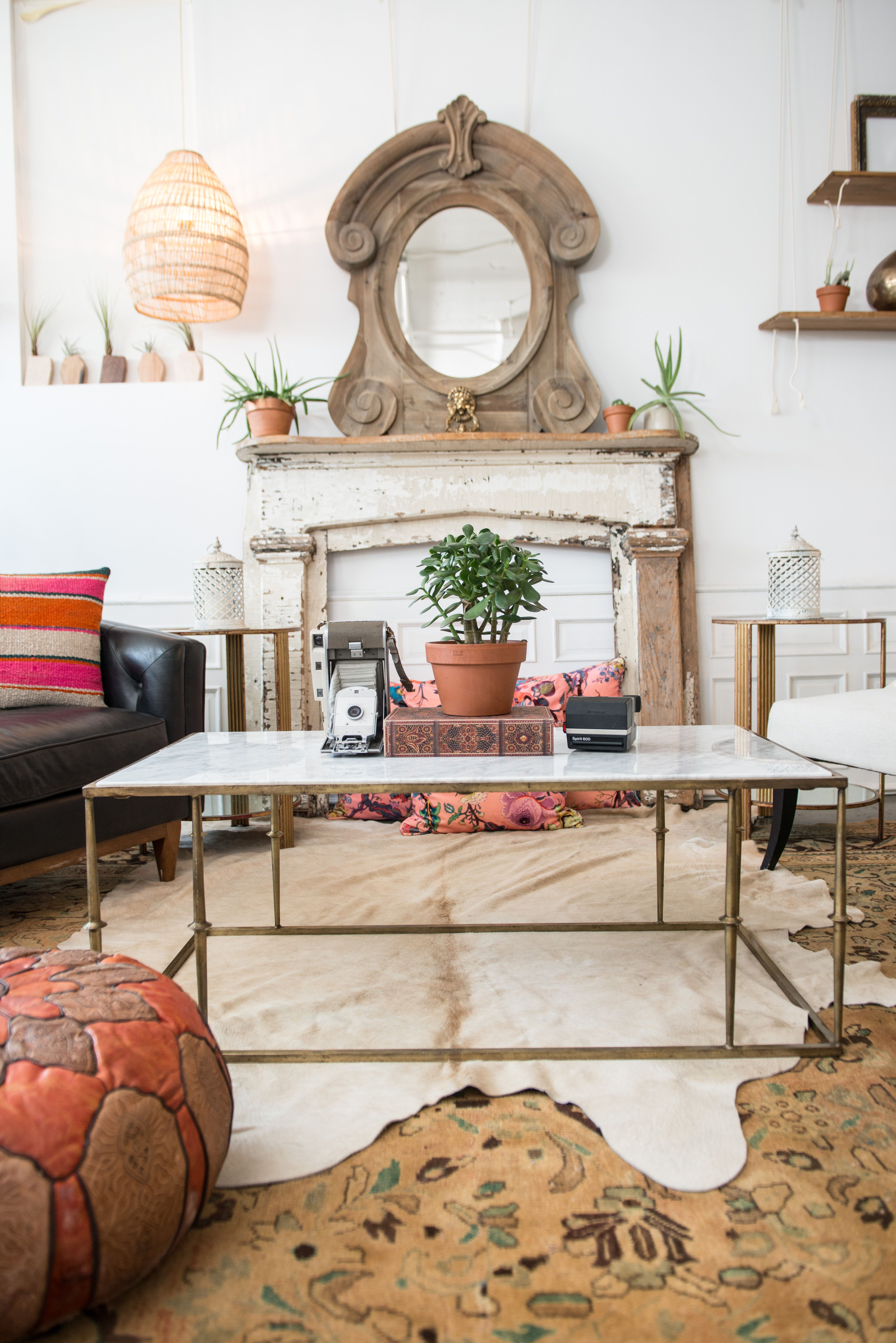 Our Leo Zodiac Style featuring our Braedon coffee table