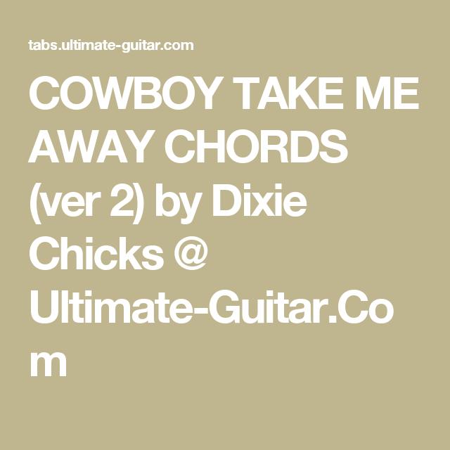 Guitar Chords For Cowboy Take Me Away Gallery - guitar chords finger ...
