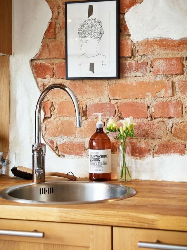 Mur De Briques Et Style Industriel Photos Trouvées Sur - Carrelage brique cuisine pour idees de deco de cuisine