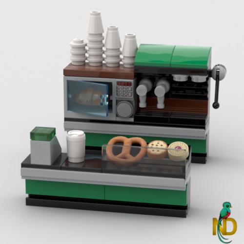 NEW LEGO Lot of 4 Dark Orange Croissants Bread Food Minifig E3