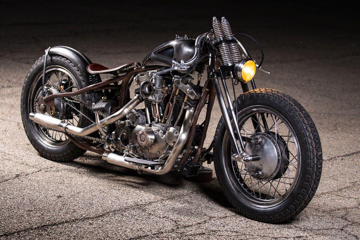 1970 Harley-Davidson Custom Bobber for sale via Rocker co | Bike