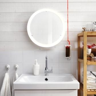 Saml Spejl Og Lys I Ét Med Storjorm Spejl Med Integreret Led Gorgeous Bathroom Design Ikea Decorating Inspiration
