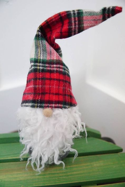 Christmas Gnome | Flannel Hat