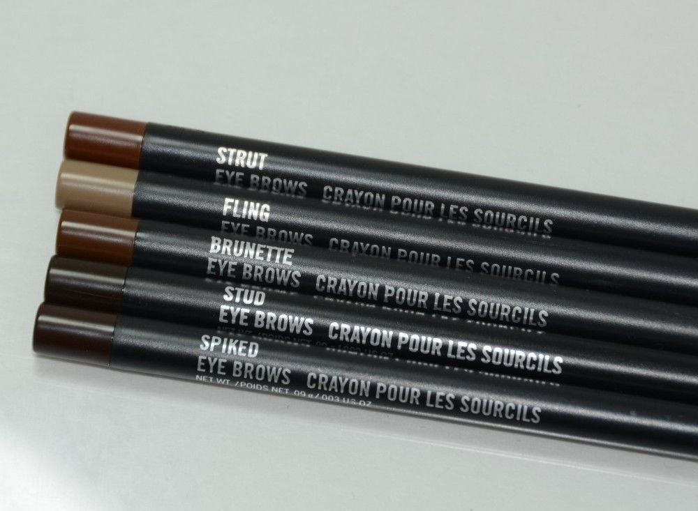 Mac Eye Brows Crayon Definer Pencil Pick A Shade Lingering Tapered