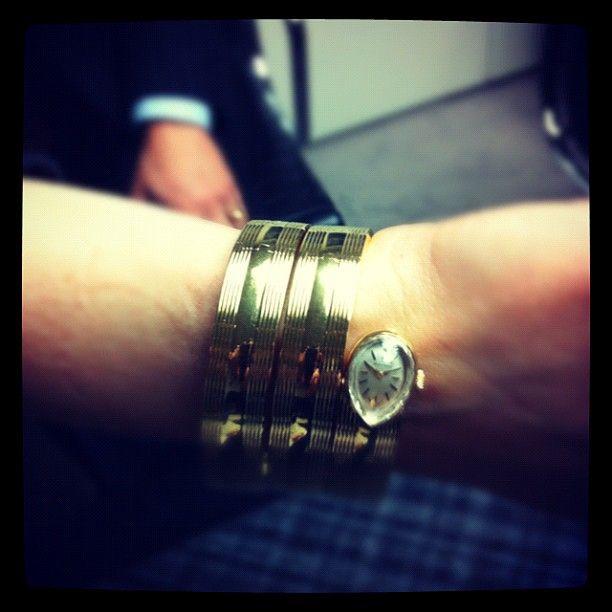 #Movado #watch owned by Liz Taylor (Elizabeth Taylor) Women's Fashion #vintage…