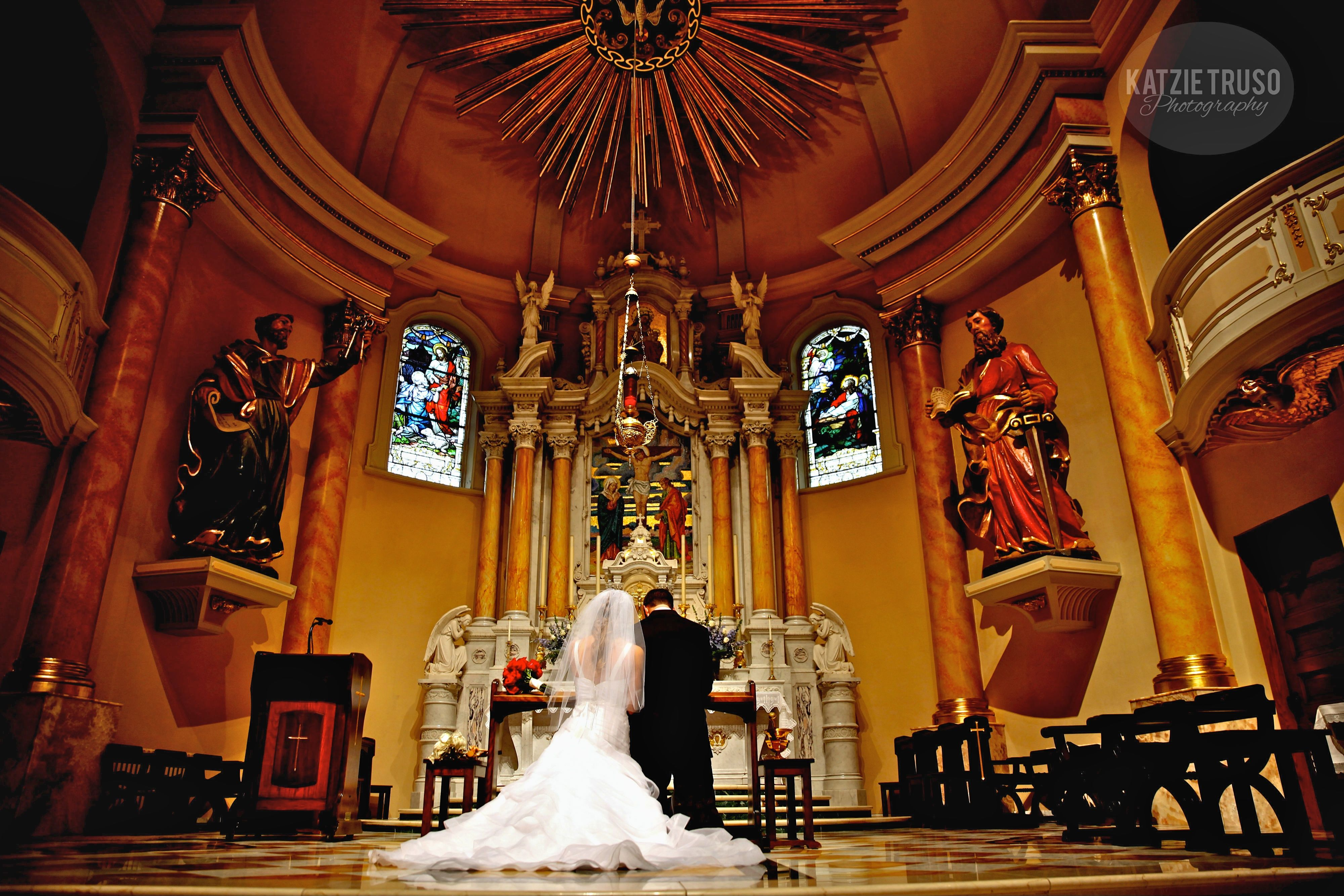 Catholic Wedding at St. Agnes in St. Paul, MN