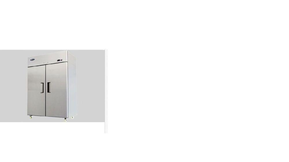 New 2 Door Stainless Steel Freezer Atosa T Series Mbf8002 Free Shipping Atosa2doorstainlesssteelfreezer Locker Storage Stainless Steel Steel