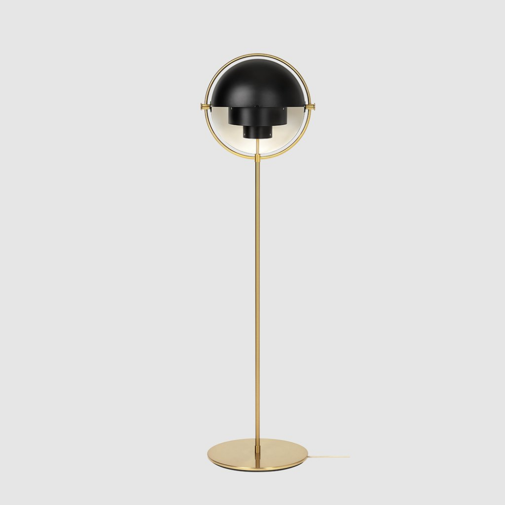 MultiLite Floor Lamp Brass Base GUBI Brass