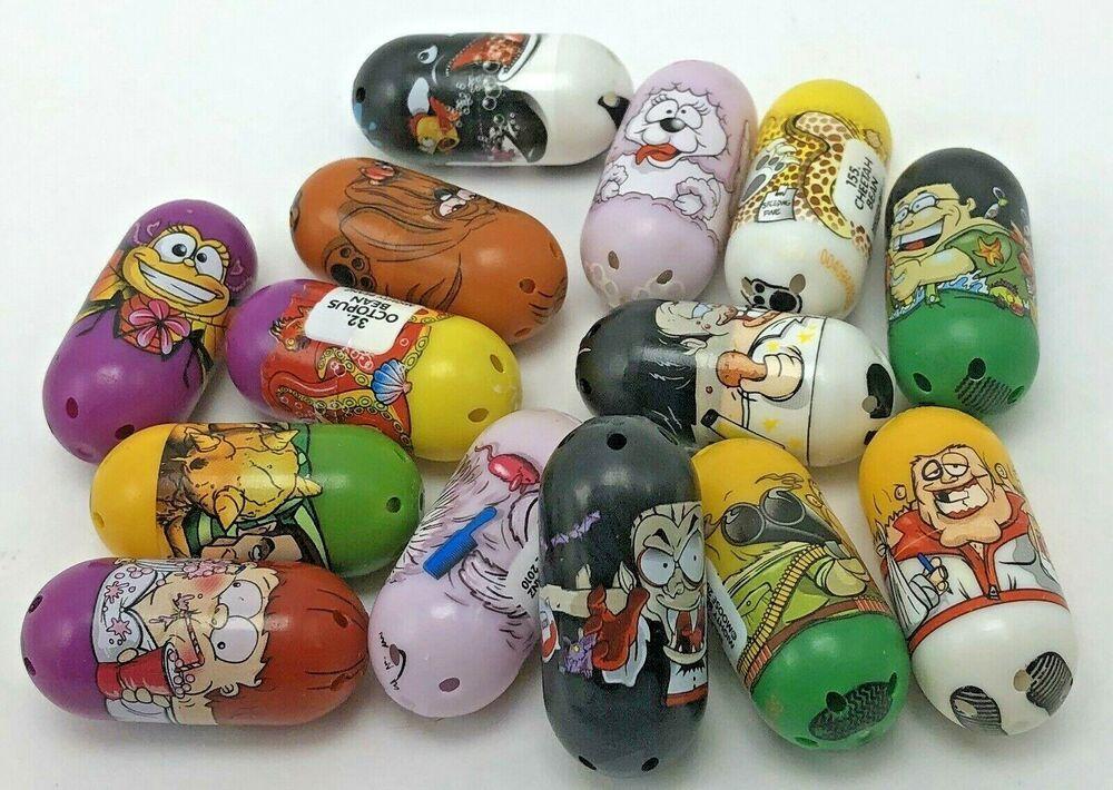 Lot of 14 Mighty Beans Beanz Toys 2010 Sandman Marvel