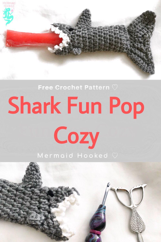 Shark Fun Pop Cozy