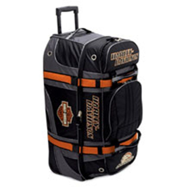 98320 08vm screamin 39 eagle nylon equipment bag harley davidson luggage pinterest harley. Black Bedroom Furniture Sets. Home Design Ideas
