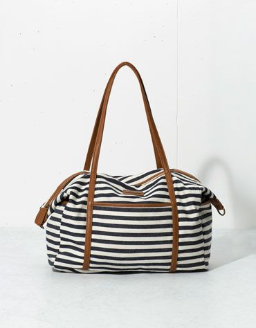 Bershka Polska - Pasiasta torba typu weekend | Bags | Pinterest ...