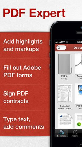 PDF Expert App FREE - 11/22 Free Productivity Apps Pinterest