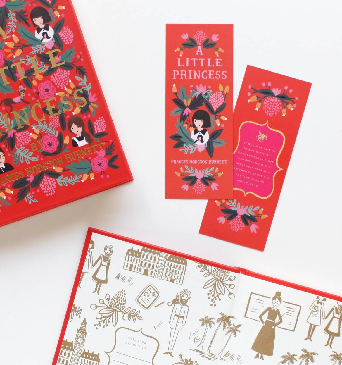 A Little Princess Hardcover Book Published By Puffin In Bloom With