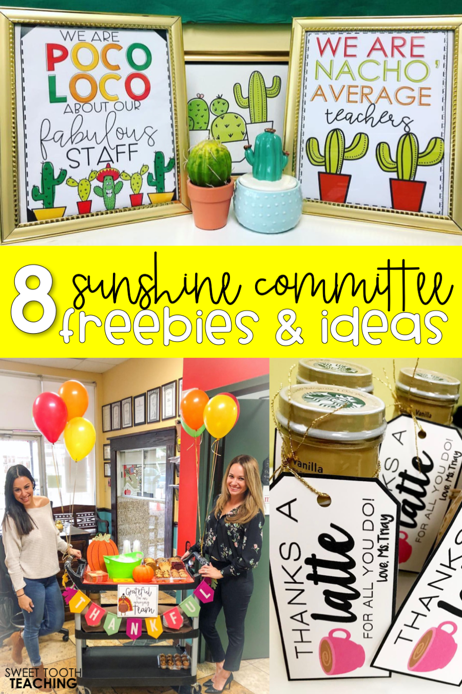 Sunshine Committee Ideas & Freebies