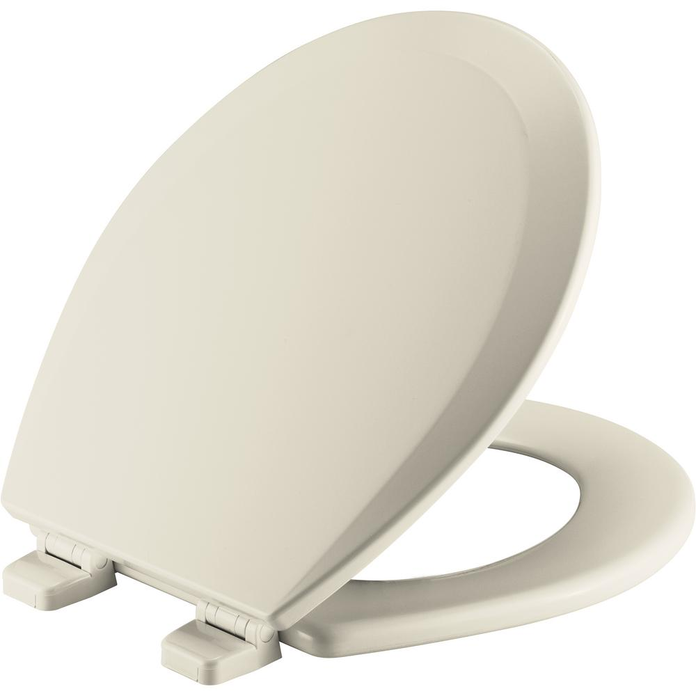 Church Round Closed Front Toilet Seat In Biscuit New Toilet
