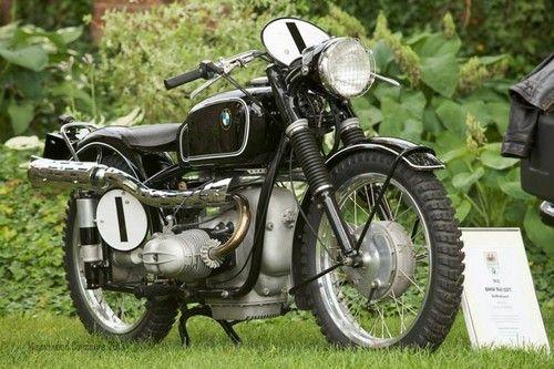 1952 Bmw R Series Vintage Bmw Motorcycle R68 Isdt Gelandesport Racer Ebay Bmw Motorcycle Vintage Bmw Motorcycle Bmw Vintage