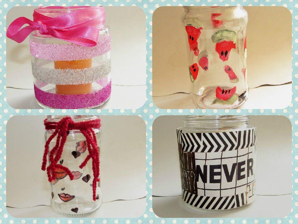 4 maneras f ciles para decorar frascos de vidrio for Decoracion de frascos de vidrio para cocina