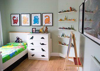Dinosaur children 39 s bedroom for kids pinterest for Dulux boys bedroom ideas