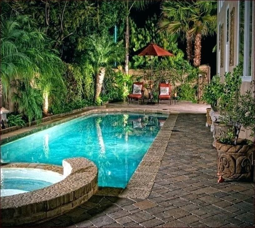 Stunning Small Backyard Designs Ideas With Swimming Pool 36