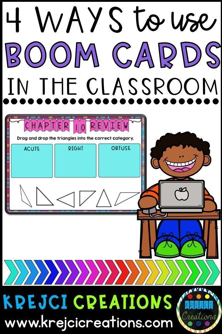 How to Use Boom Cards in the Classroom - Krejci Creations