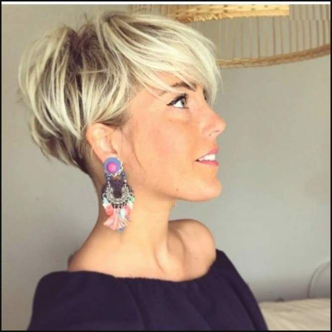 Blonde Short Hair In Pixie Cut Blond 2018 Bob Frisuren 2017