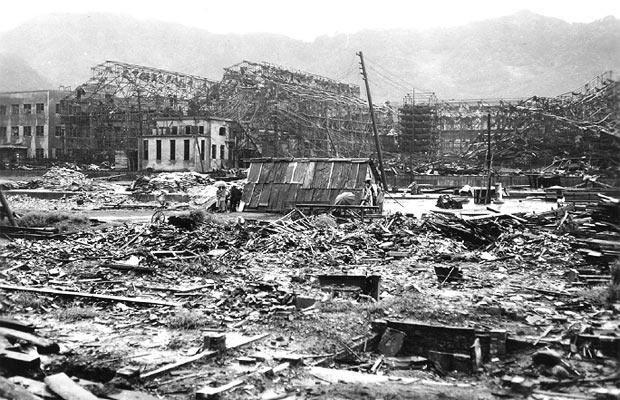 imagenes de Nagasaki despues bomba atomica
