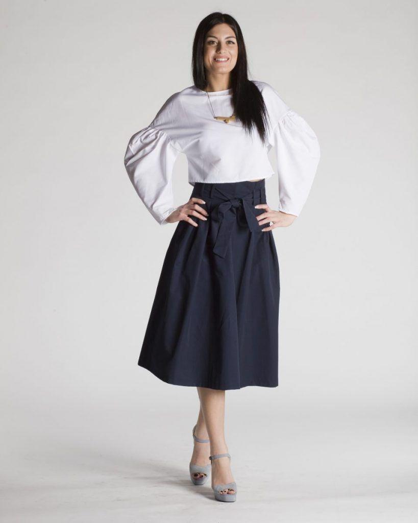 38044980714 Crop top λευκό πουκάμισο in 2019 | Γυναικεία Πουκάμισα | Πουκάμισα ...