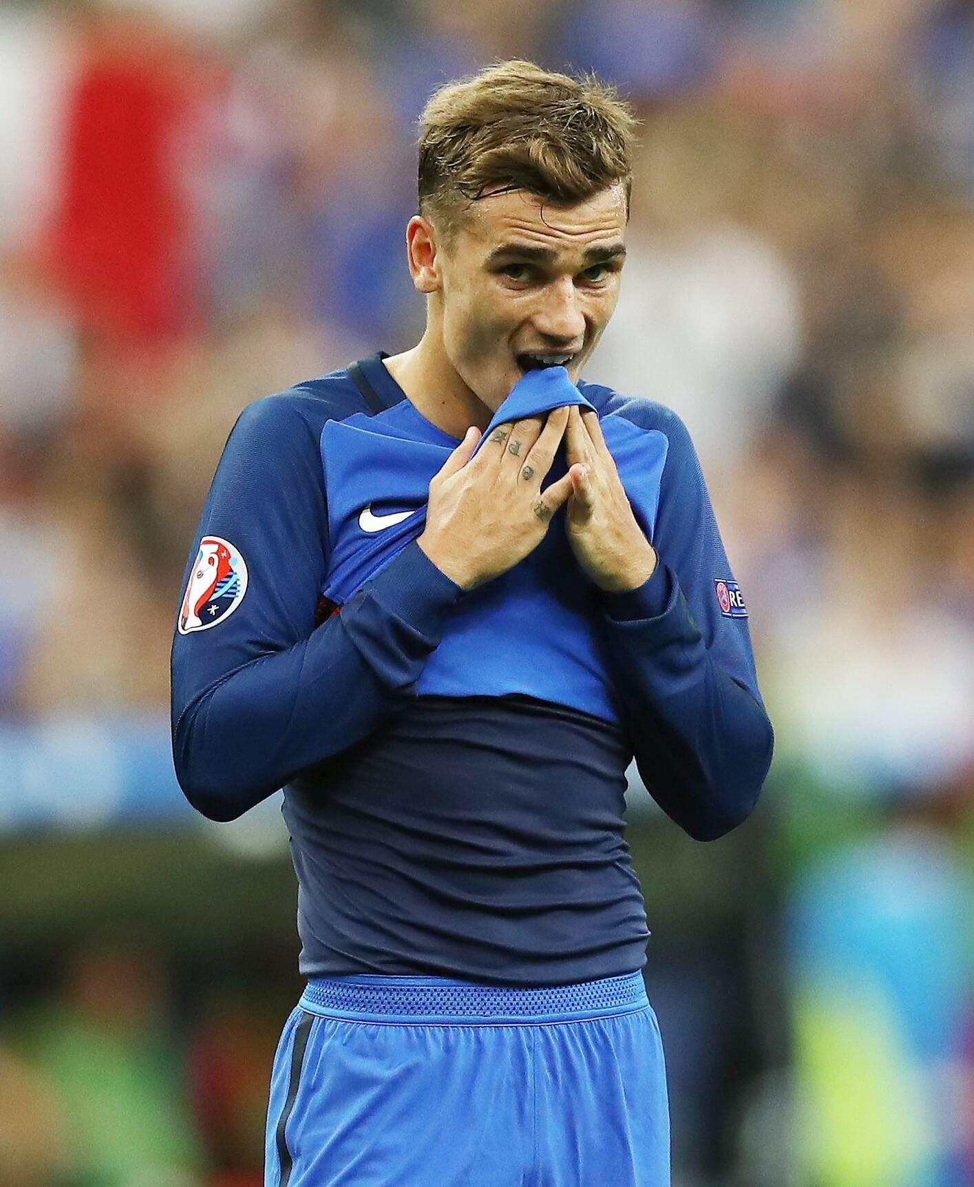 Bild zu Antoine Griezmann EURO 2016 France