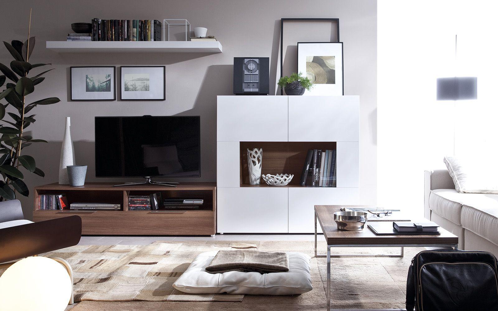 Modern yeni tv unite modelleri 7 - Modern Wall Unit Crea Cr03 By Rimobel Furniture Spain Wallunit Livingroom Furniture