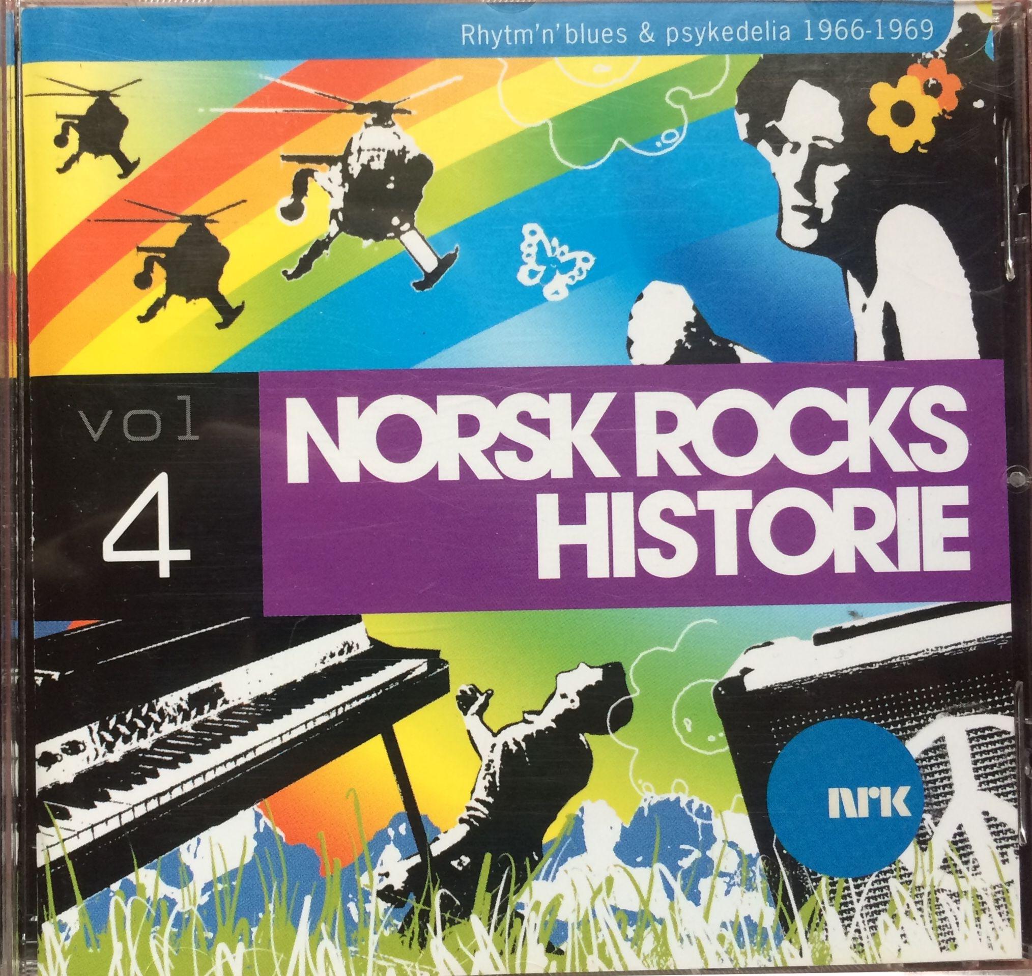 Various Artists: Norsk rocks historie 4 - rhythm'n'blues & psykedelia 1966-1969 CD (Universal/NRK 2004) Norway