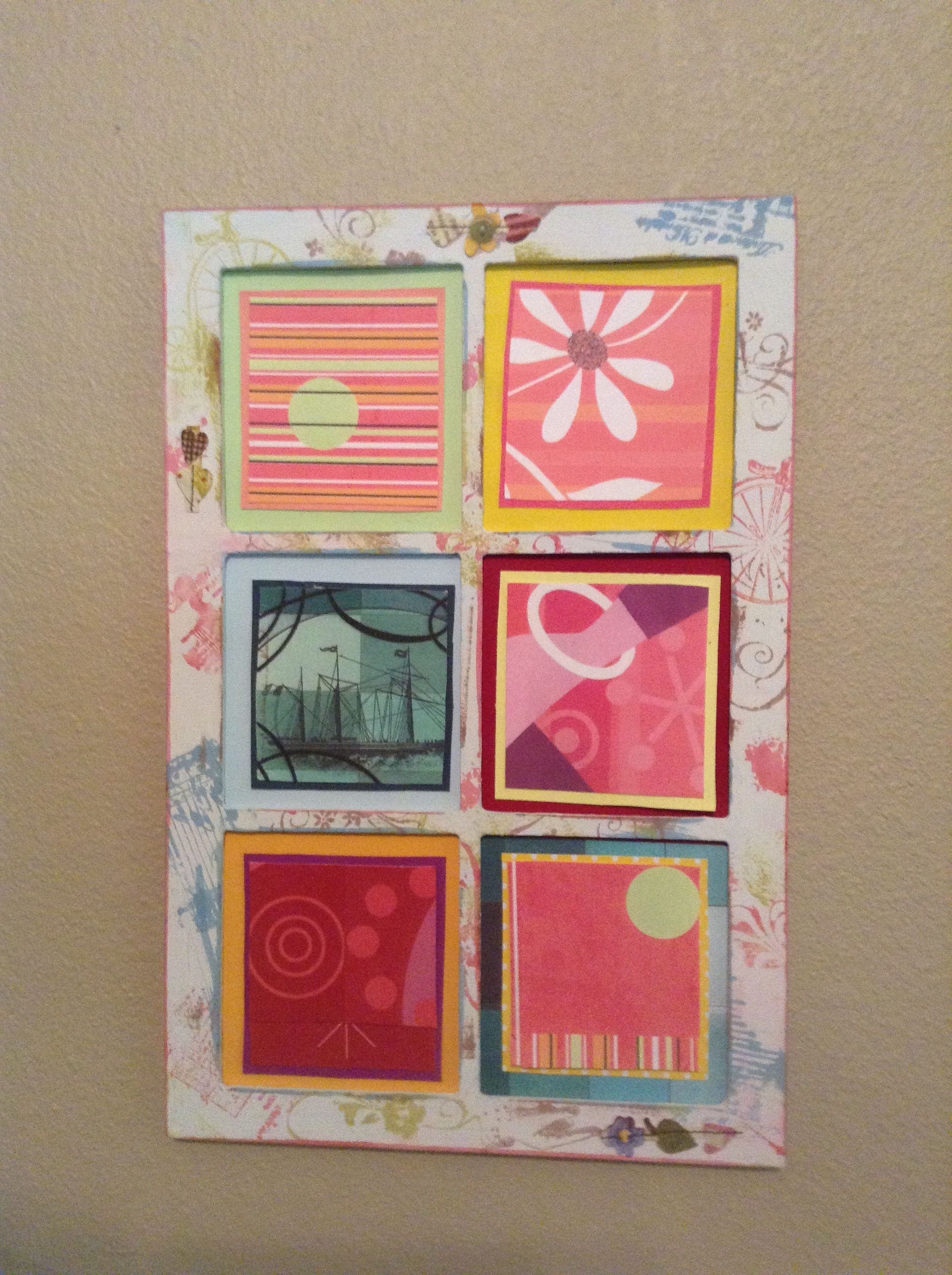 Recycled Greeting Cards Eileen