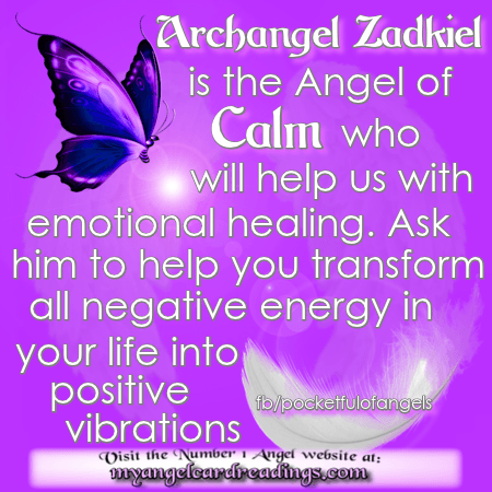 I Archangel Zadkiel Am Sharing This Information With You As A