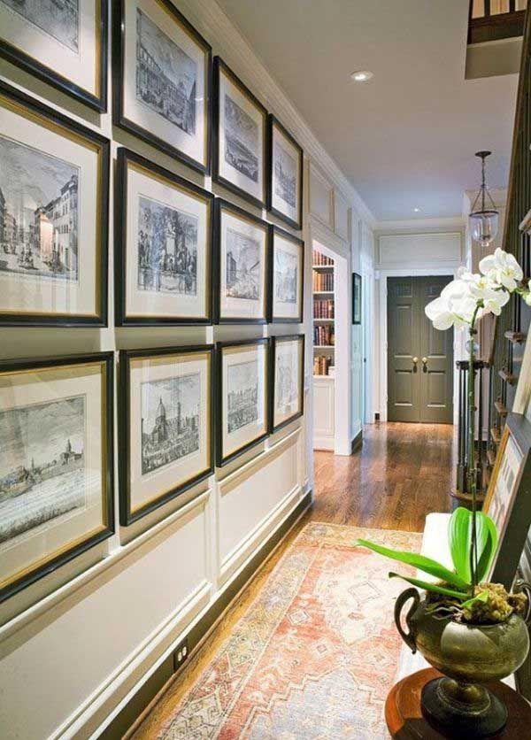 50 ideas para pintar y decorar un pasillo estrecho pasillos for Para desarrollar un corredor estrecho