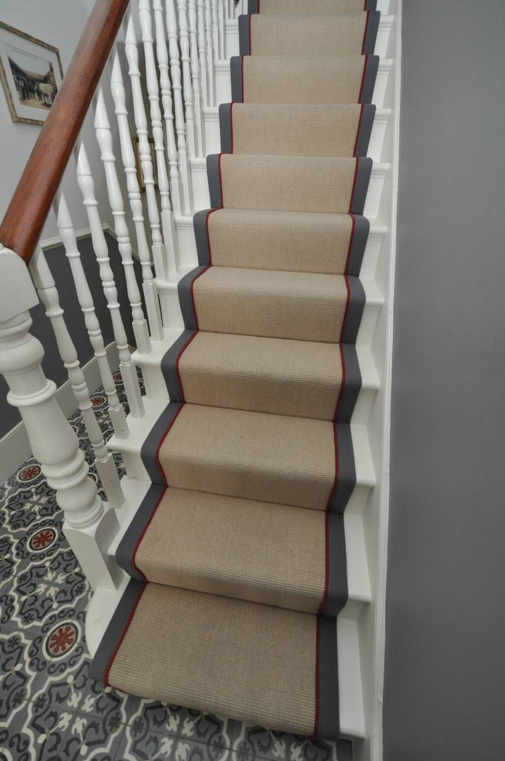 Best Stair Runner Virginie Bowloom Stairway Carpet Stair 640 x 480