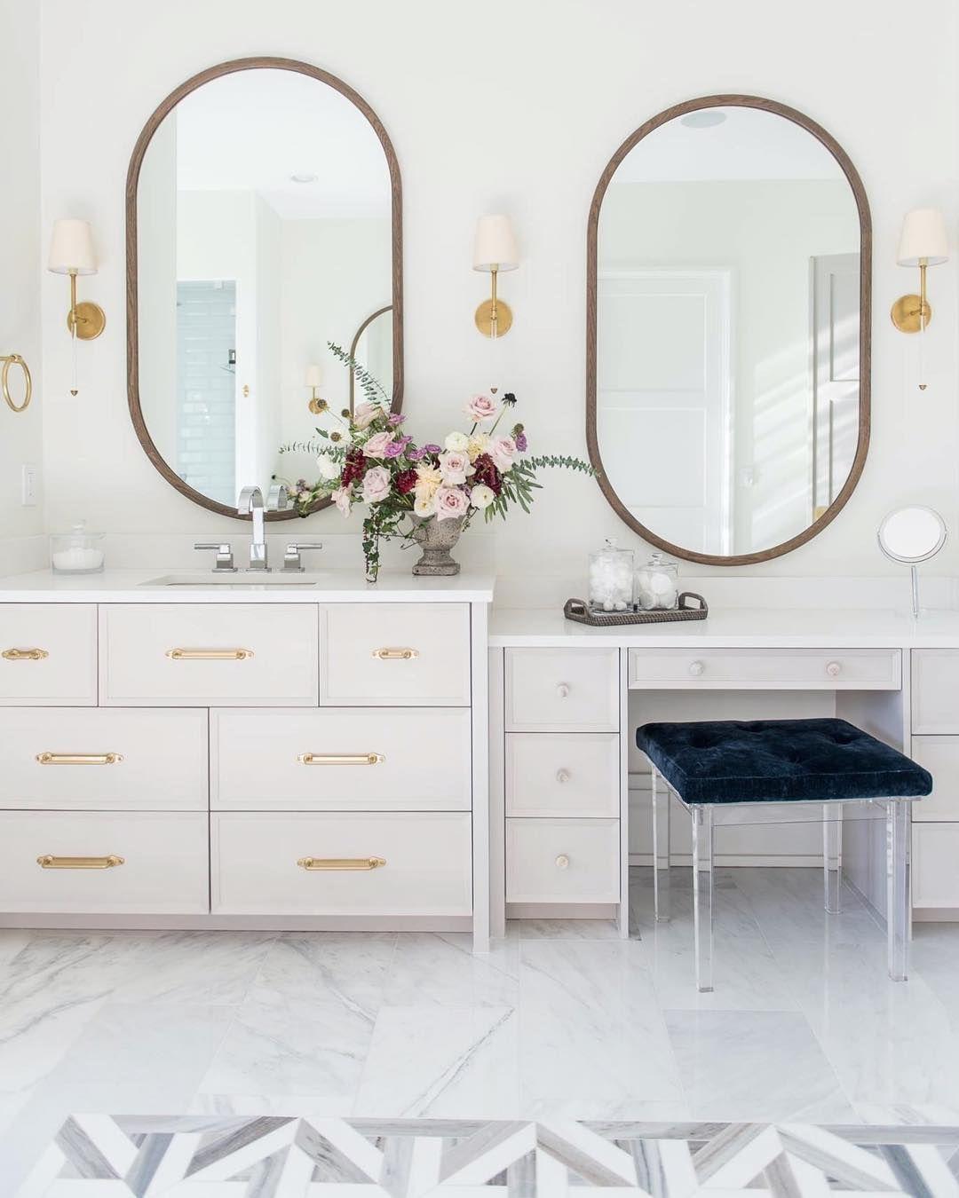 white oak custom mirrors are winning at life right here on custom bathroom vanity mirrors id=32190