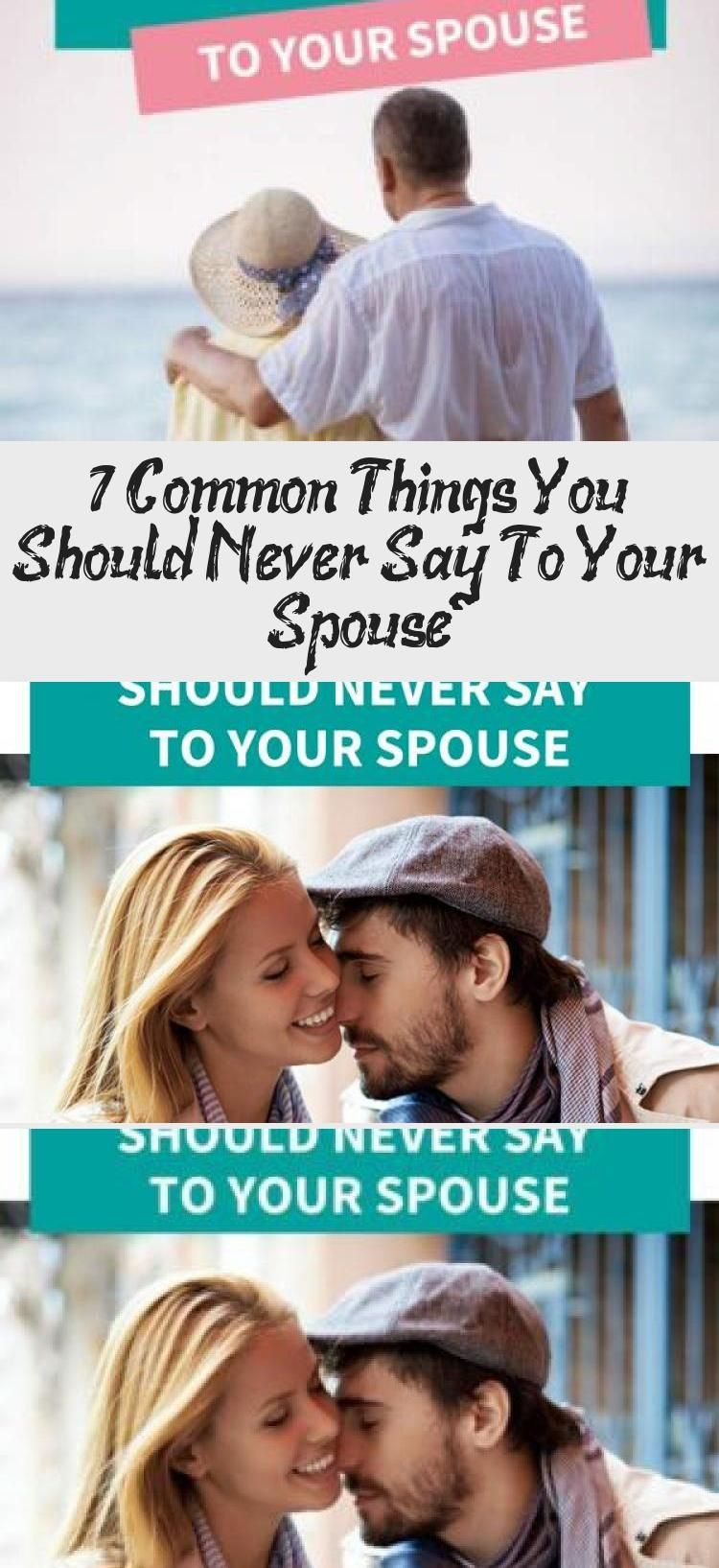 Would you like some smart marriage advice There are 7 common things you should never say to your spouse if you want to have a strong relationship Every couple has their s...
