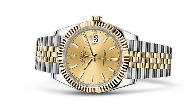 7391940ff3c5f Orologio Rolex Datejust 41: Rolesor giallo (combinazione di acciaio 904L e  oro…