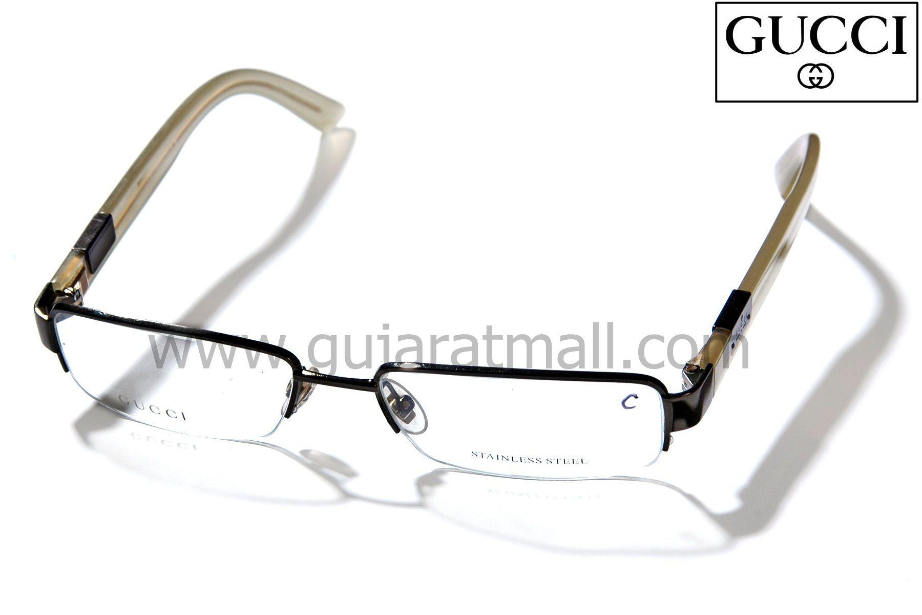 2e16376d82 Buy Gucci GG1875 Eyeglasses Spectacle Frame Eyeglasses India •  GujaratMall.com