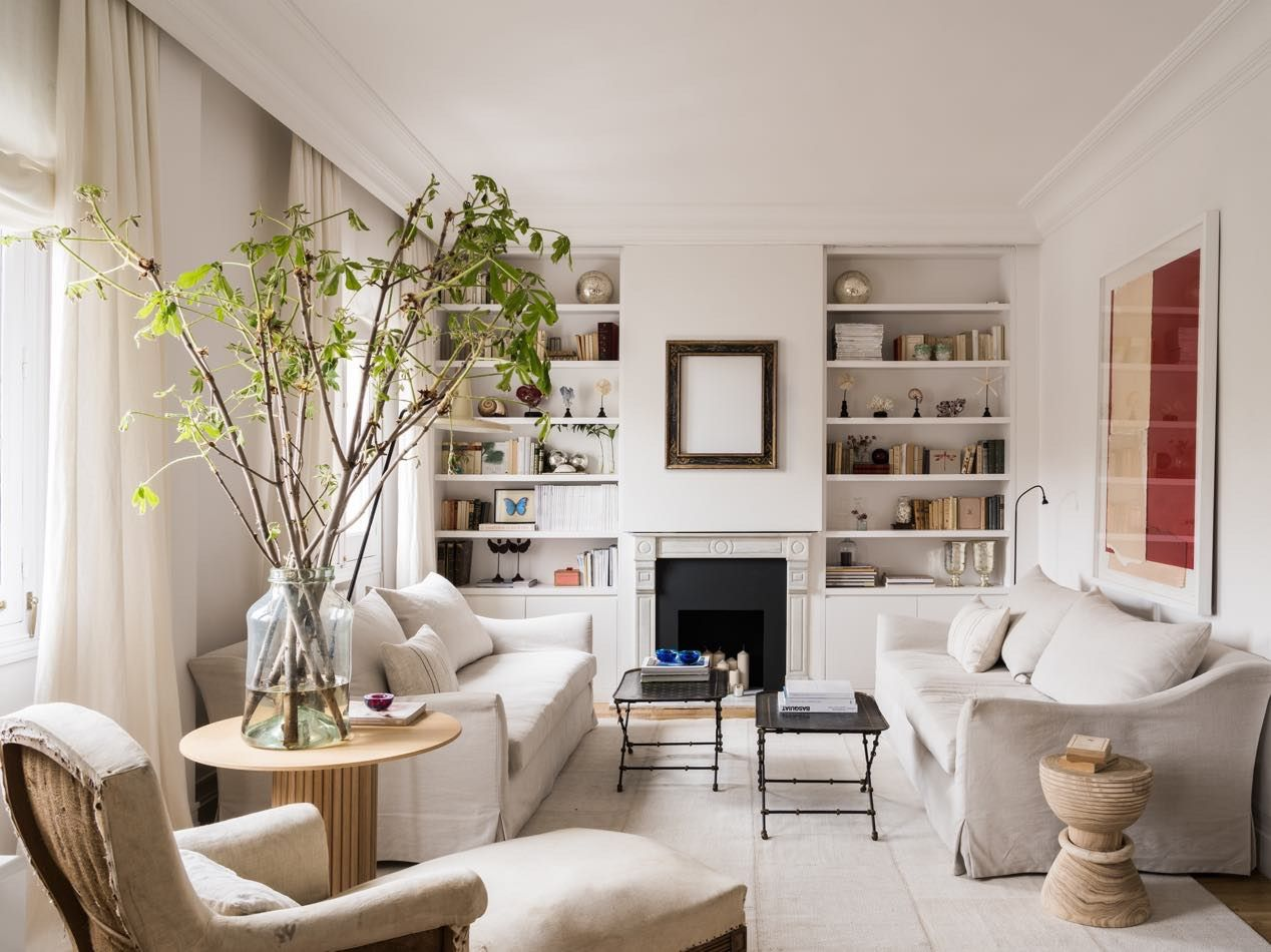 Room of the Week :: Pared Down European Style in a Living ...