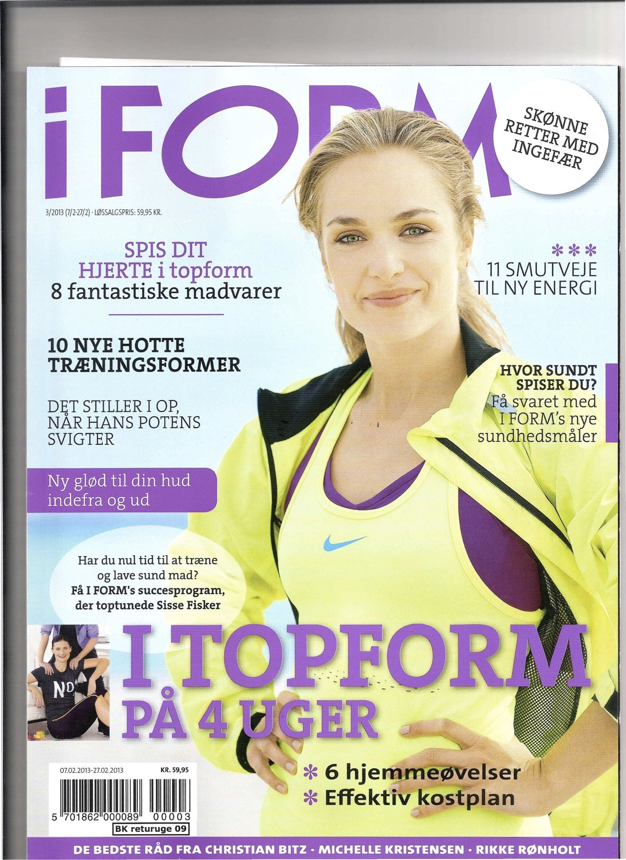 The Largest Scandinavian Health Magazine I Form In Shape In Denmark Norway Sweden And Finland Wrote About Yogastr Health Magazine Yoga Journal Yogi Times