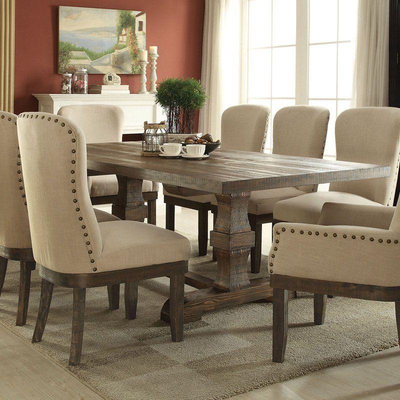 acme furniture landon rectangular dining table products dining rh pinterest co uk acme furniture cardiff dining table acme furniture serra ii dining table
