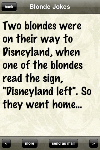 Funny Blonde Jokes For Iphone Download Funny Blonde Jokes Blonde Jokes Dumb Blonde Jokes