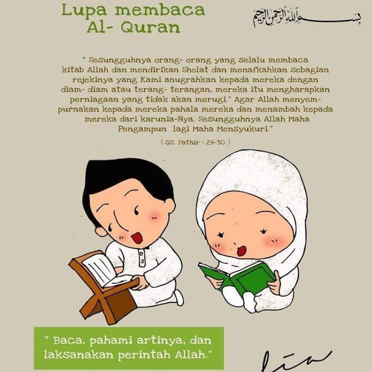 94 Gambar Gambar Kartun Khatam Quran Paling Keren