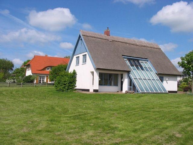 Ferienhaus Am Stettiner Haff Kamin, Zaun, Ostsee auf