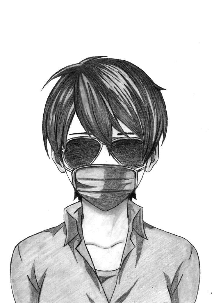 20+ Anime face mask drawing inspirations