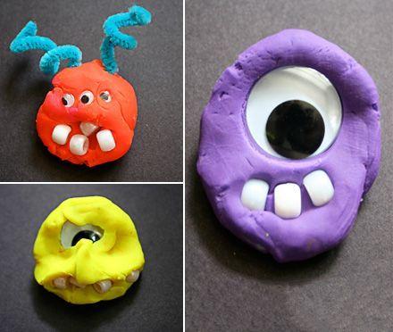 Playdoh Monsters Playdough Activities Play Doh Halloween Preschool