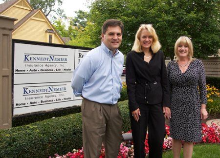 Senetor Patrick Colbeck With Owners Karen Nemier And Lisa Kennedy