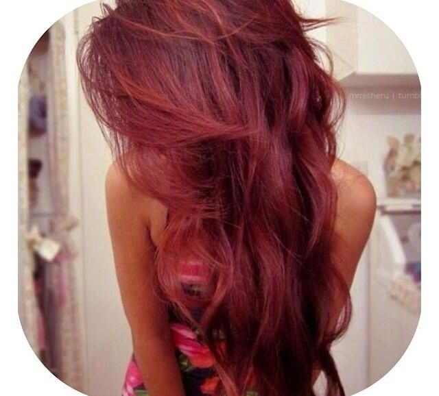 pretty red hair #want