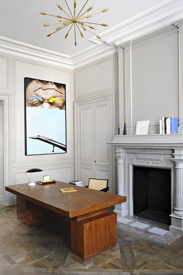 Home office design by Joseph Dirand. Photo via Architectural ...